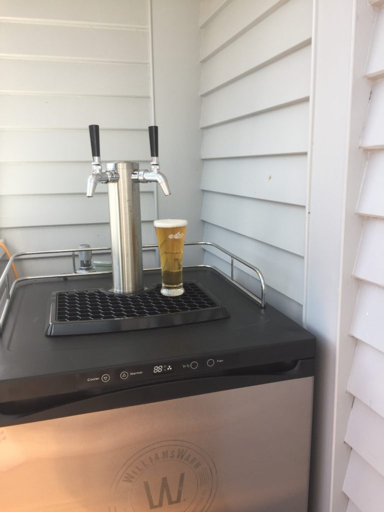 Keg Fridge at Home!