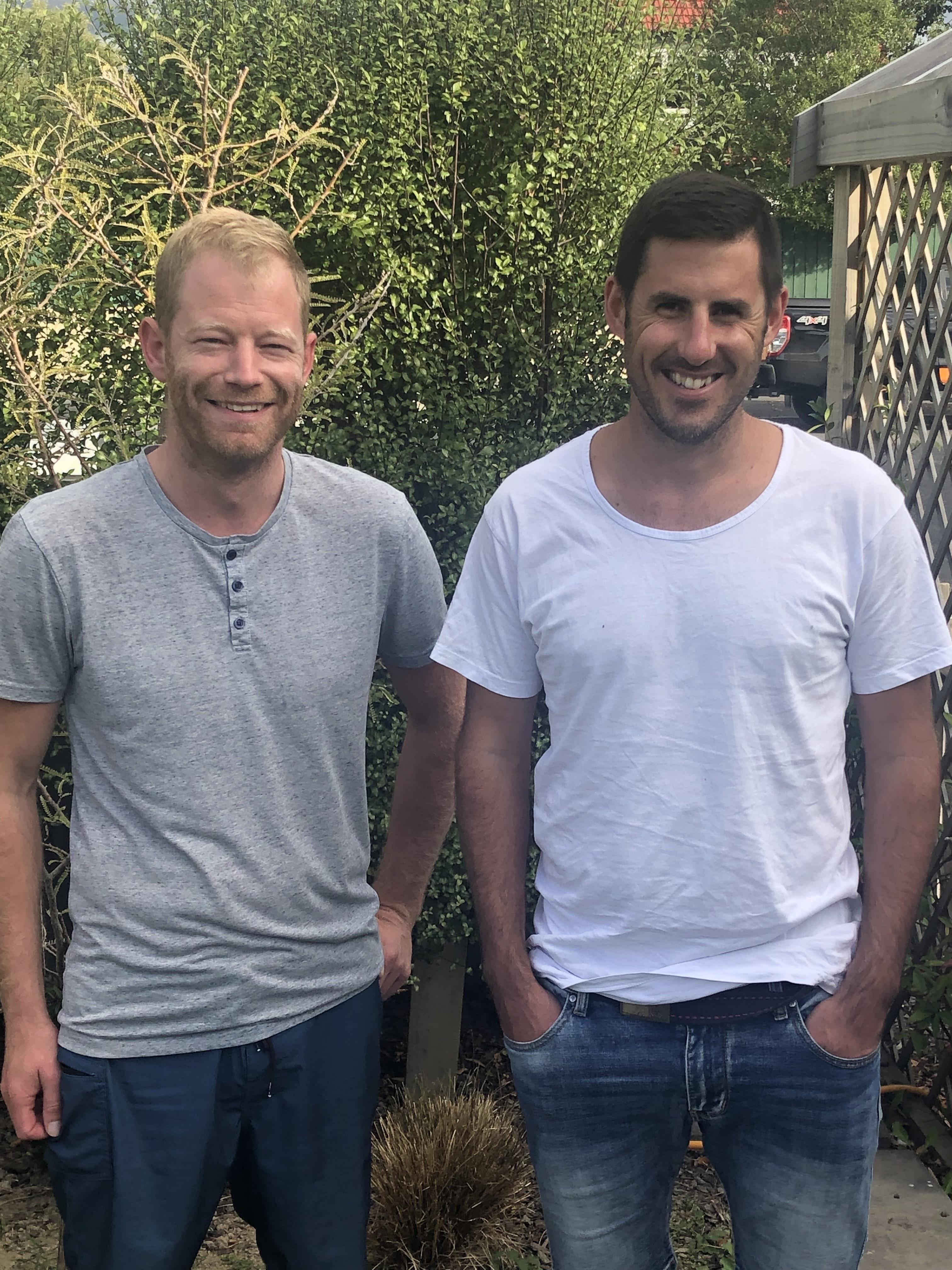 Geoff and Josh